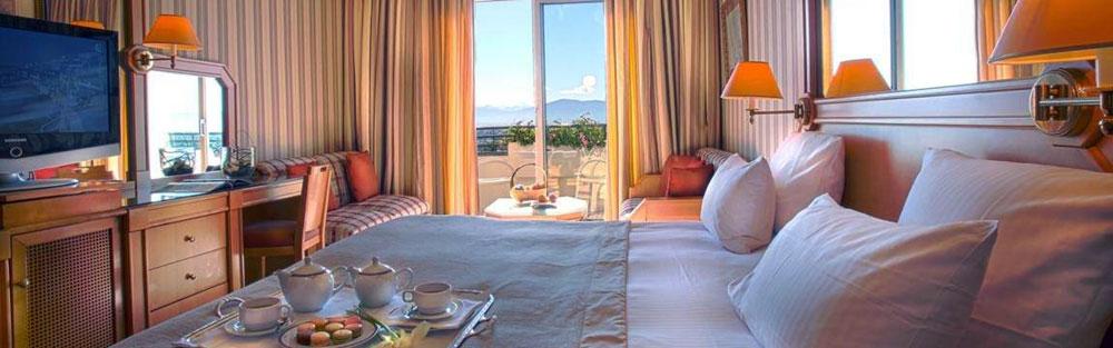 Chambre de l'Hotel du Domaine de Divonne