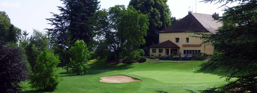 Club house au golf du Domaine de Divonne