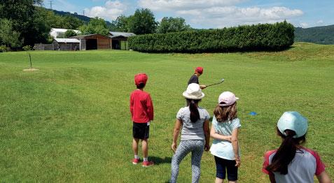 Golf du Haut-Bugey : école de Golf