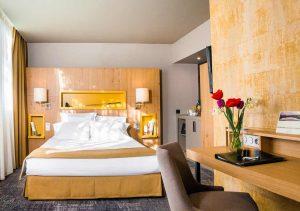 hotel du golf du Gouverneur : chambre d'hôtel